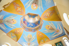 Dome with Angels Royalty Free Stock Photos