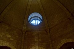 Dome, Arch, Light, Ceiling Stock Photography