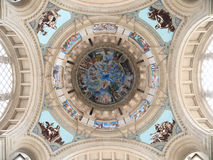 Dome of Art Museum. Dome of National Art Museum of Catalonia in Barcelona, Spain Royalty Free Stock Photos