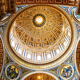 Dome, artistic details Royalty Free Stock Photos