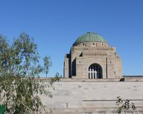 The dome of the Australian War Memorial Stock Image