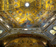 Dome of Baptistery di San Giovanni. Florence, Italy Royalty Free Stock Images