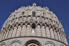 Dome of the Baptistery in Pisa Stock Photos