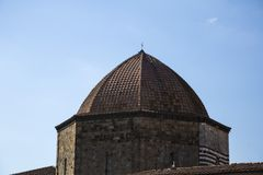 Dome of a baptistery Royalty Free Stock Image