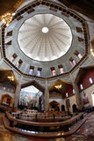 Dome and Basilica of the Annunciation church Stock Image
