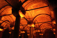 Dome of Basilica Cistern Royalty Free Stock Photo