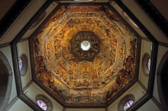 The Dome of Basilica di Santa Maria del Fiore Royalty Free Stock Photography