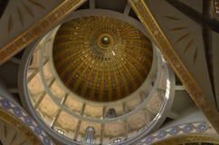 Dome of the Basilica of Licheń, Poland. Basilica of Licheń, Poland - dome Royalty Free Stock Photography
