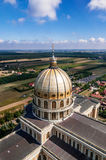 Dome of Basilica of Our Lady in Lichen, Poland Royalty Free Stock Photo