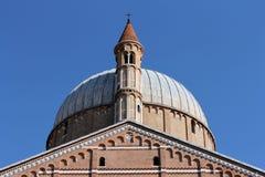 Dome of basilica Sant'Antonio da Padova Stock Photo