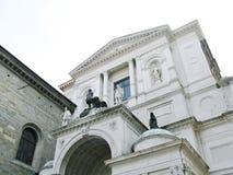 The dome of Bergamo in Italy Royalty Free Stock Photo
