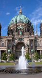 Dome of the Berlin Cathedral Royalty Free Stock Photo