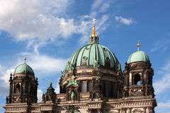 Dome of the Berlin Cathedral royalty free stock image