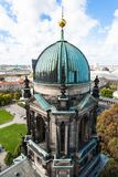 Dome of Berlin Cathedral Berliner Dom royalty free stock image