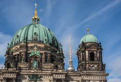 Dome of the Berlin Cathedral (Berliner Dom) Stock Photos