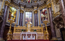 Dome of the berlin cathedral Stock Images