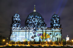 Dome in berlin at night Royalty Free Stock Photo