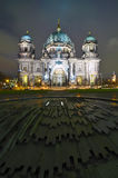 Dome in berlin at night Royalty Free Stock Image
