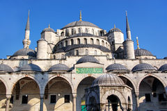 Dome of Blue Mosque Stock Photography