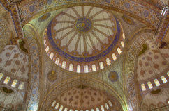 Dome of the Blue Mosque Royalty Free Stock Photography