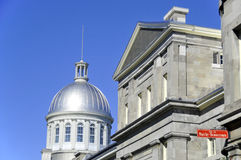 Dome of Bonsecours Market Stock Photos