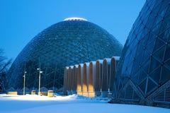 Dome of a Botanic Garden in Milwaukee Royalty Free Stock Photos