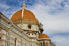 Dome of Brunelleschi Stock Photography
