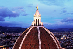 Dome of brunelleschi Royalty Free Stock Photos