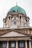 Dome of Buda Castle Stock Image