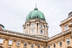 Dome of Buda Castle Stock Photography