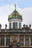 Dome of a building. With statues of various Royalty Free Stock Photography