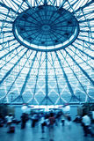 Dome building and passenger Royalty Free Stock Image