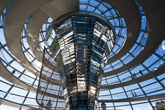 The dome of Bundestag Royalty Free Stock Photo