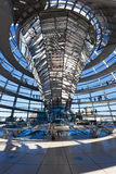 The dome of Bundestag Stock Photography
