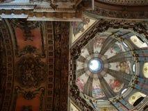 Dome of Candelaria Church in Brasil Royalty Free Stock Photo