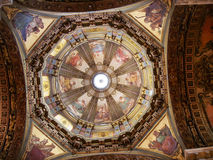 Dome of Candelaria Church stock images