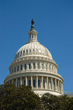 Dome of the Capitol Building in Washington DC Stock Photo