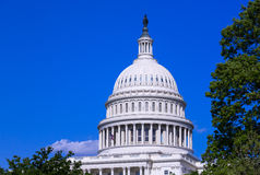 Dome of the Capitol building in Washington DC Stock Photos