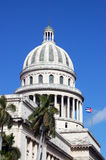 Dome of the Capitolio, Havana Royalty Free Stock Images