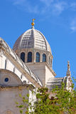 Dome of the cathedral Stock Photography