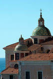 Dome cathedral Atrani city Stock Photography