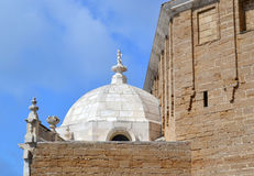 Dome of the Cathedral of Cadiz in Spain Stock Image