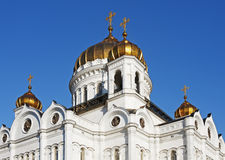 Dome of the Cathedral of Christ the Savior Stock Image