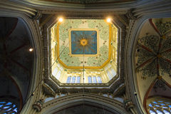 Dome  in the cathedral Dutch city of Den Bosch Royalty Free Stock Photography