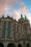 Dome Cathedral in Erfurt, Germany. Royalty Free Stock Photography
