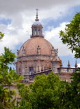 Dome of the Cathedral of Jerez de La Frontera Stock Photo
