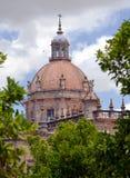 Dome of the Cathedral of Jerez de La Frontera Stock Photo