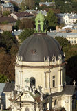 Dome Cathedral in Lviv Royalty Free Stock Photos