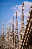 Dome cathedral in Milan Stock Photo