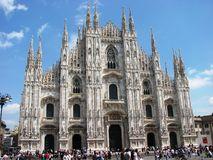 Dome/Cathedral of Milan, Italy Royalty Free Stock Photography